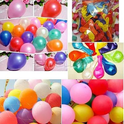 50x Latex Balloons Birthday Latex Pearl Balloons Decoration Wedding Party
