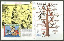 Walt Disney, Goofy - Uganda - Bl.174-175 ** MNH 1992