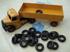 20 x Gummireifen für z.b. alte Modellautos von Dinky Toys  Corgi Truck Tyres