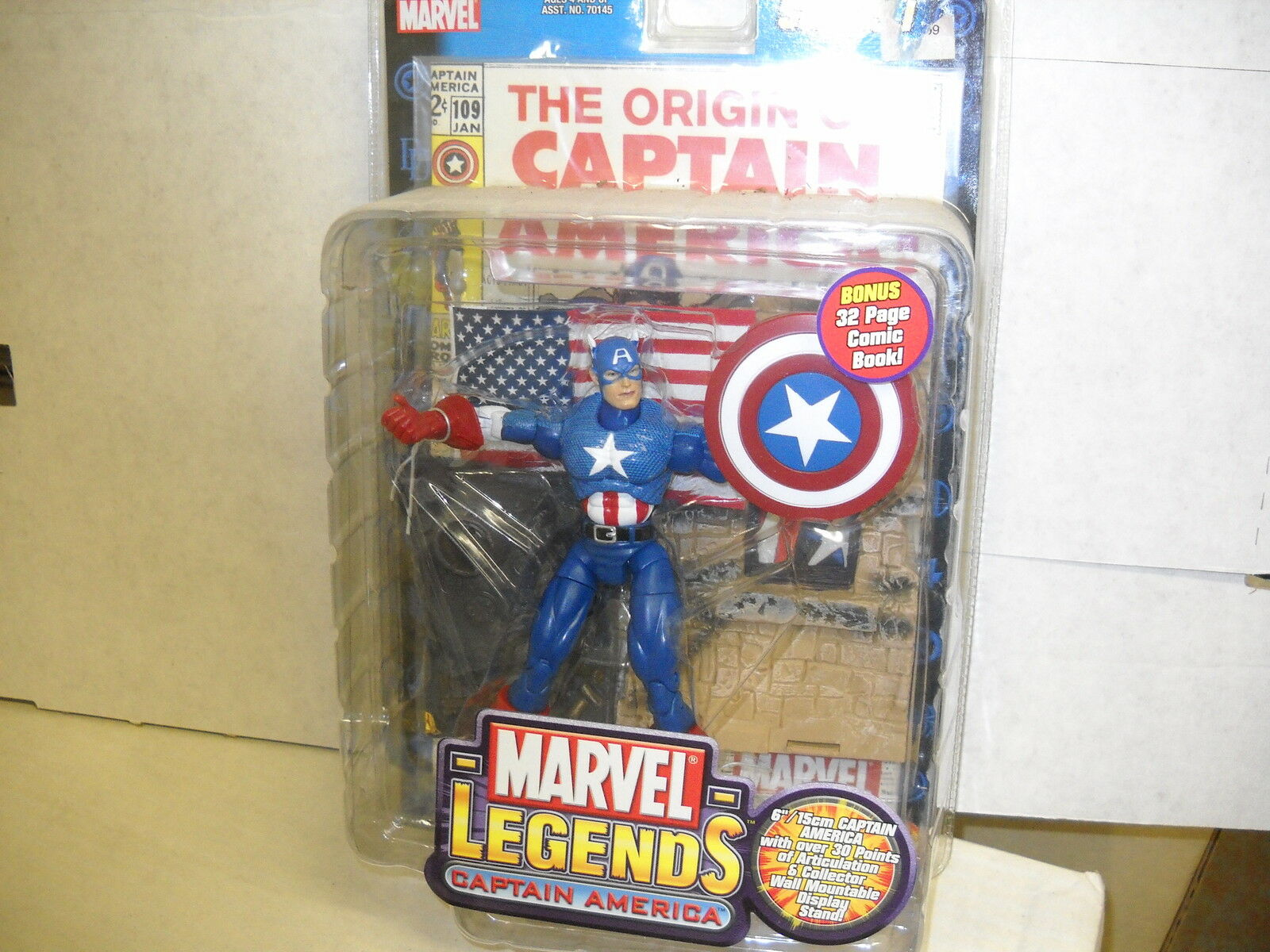 Marvel - legenden figures-captain amerika