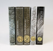 FULL SET OF ROMAN COINS AND THEIR VALUES VOLUMES I-V