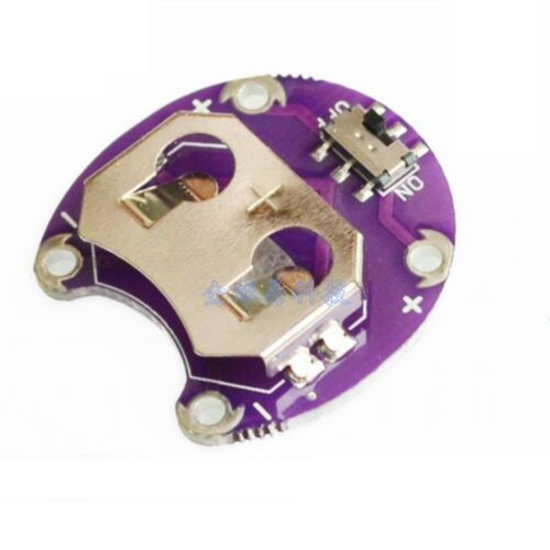 5 PCS Arduino LilyPad Coin Cell Battery Holder CR2032 Battery Mount Module