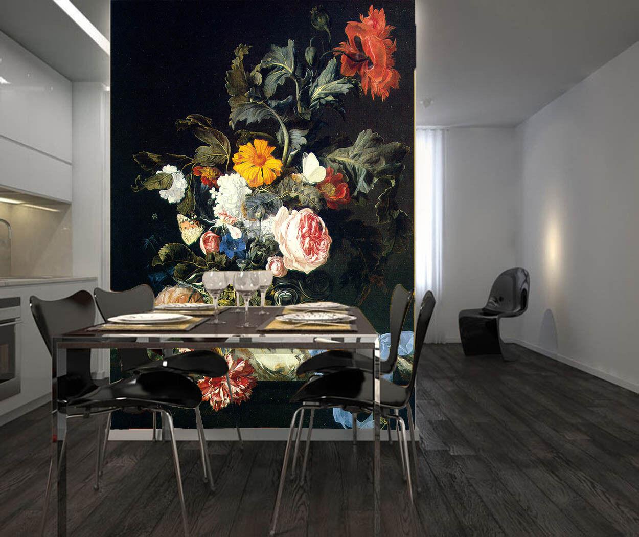 3D Die Dunkelheit, verbrin Fototapeten Wandbild Fototapete BildTapete Familie DE