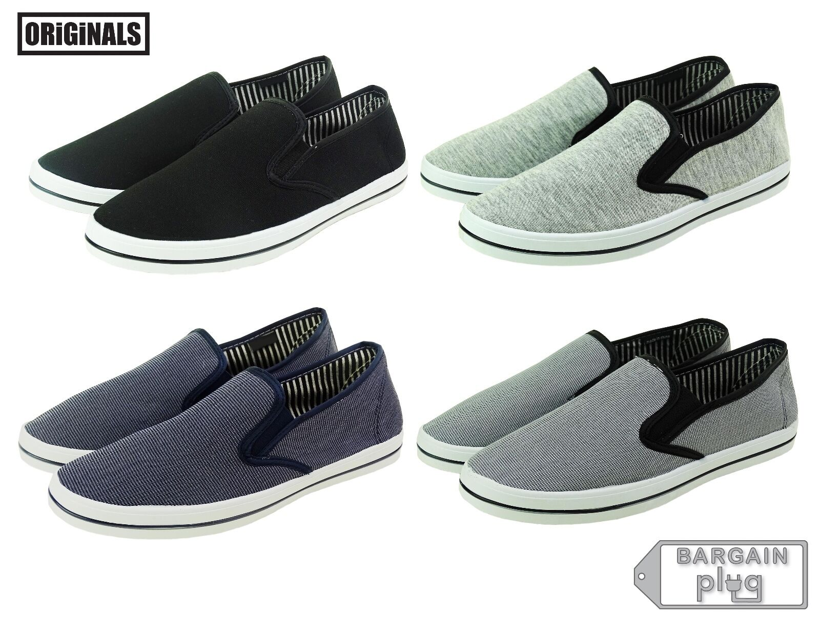 Mens Canvas Shoes Sneakers Slip On Casual Colors Sneakers Shoes Kicks Originals Lowtop Footwear d0d52b