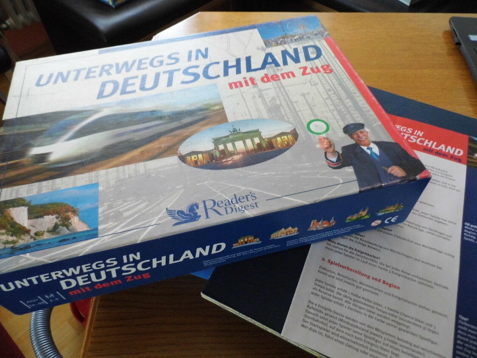 Unterwegs in Deutschland mit dem Zug - Neu  von Reader´s Digest