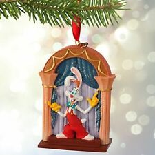 Roger Rabbit and Jessica Sketchbook Christmas Tree Ornament Disney Holiday