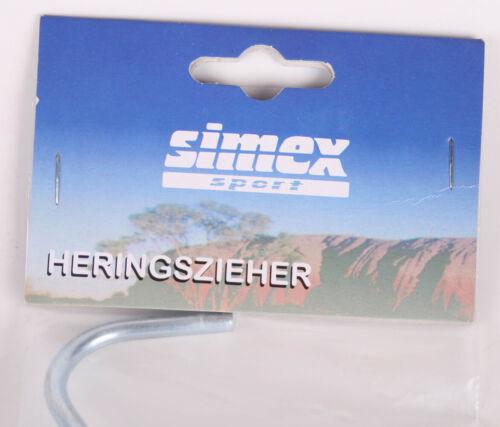 High Peak Hareng Gratter Arrache-Piquet Gris Taille 21 x 10 cm