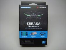 ZERAXA CRASH PACK-RADIO SHACK-COMPATIBLE,6001434,6001360-NEW- IN BOX