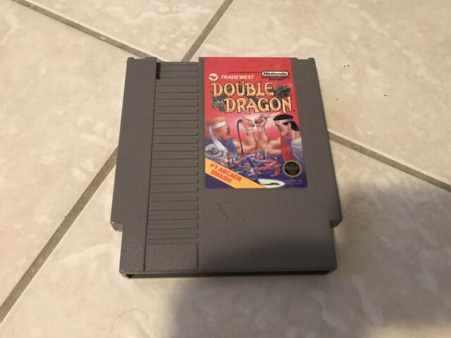 Double Dragon Original Nintendo NES - Tested Cleaned Fast Free Shipping