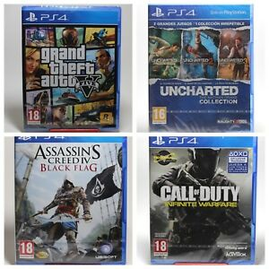JUEGOS PS4 - GTA 5 - UNCHARTED - ASSASSINS CREED - CALL OF DUTY - FARCRY 4