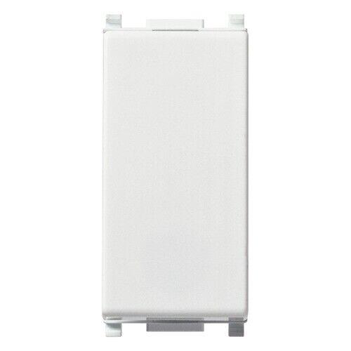 Vimar plana 14010 Pulsante 1 polo NC 10A 250V illuminabile Bianco