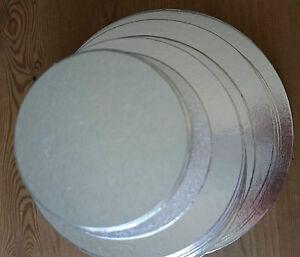 Cut Edge Cake Boards Pack Of 10 Round Wedding Cake