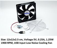 """Netgear R6100 /6200/6250/ R6300V2 EX6200 Router Cooling Fan Low Noise 4.7"""" 12cm"""