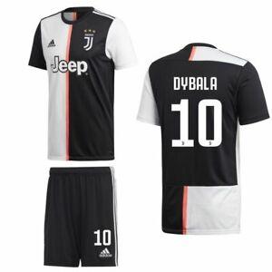Adidas Juventus Fc Jfc Mens Kids Boys Home Kit Shirt Shorts 2019 20 Dybala 10 Ebay
