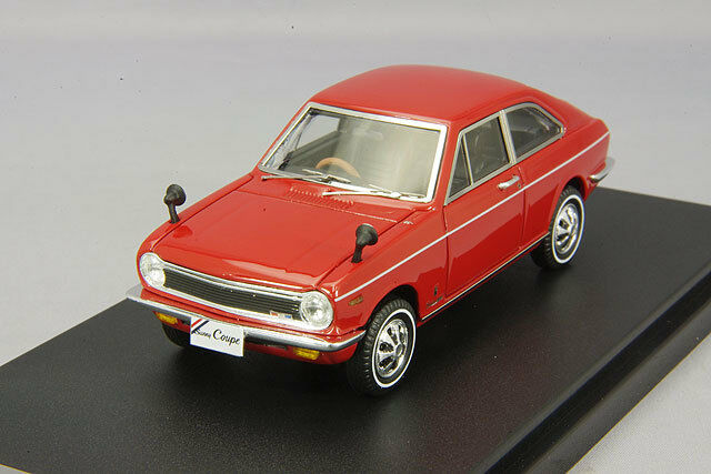 1/43 Hi-Story Nissan Sunny coupe GL B10 1969 Sunrise Red HS148RE