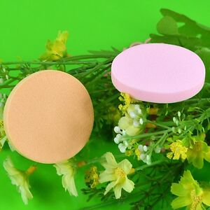 5Pcs-Good-Quality-Cosmetic-Makeup-Sponge-Powder-Puff-Face-Round-Natural-Latex