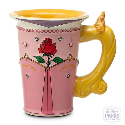 Disney Parks authentic Princess Aurora Dress Ceramic Mug Sleeping Beauty New