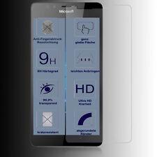2x Protección para la pantalla ✔9H Nokia Lumia 950 Protección de cristal