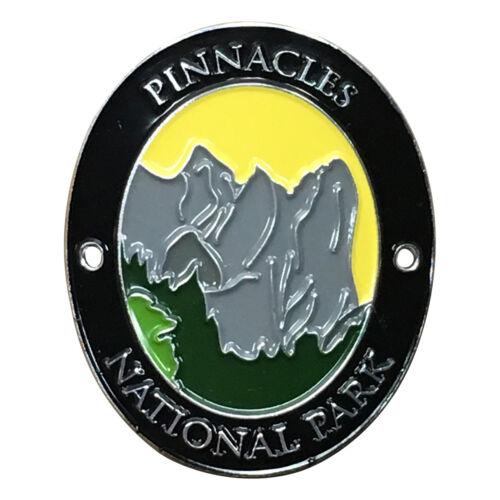 Pinnacles National Park Walking Hiking Stick Medallion California