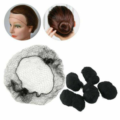 Invisible Hair Net Snood Mesh Fine Bun Cover Equestrian Slumber Sleek Cover