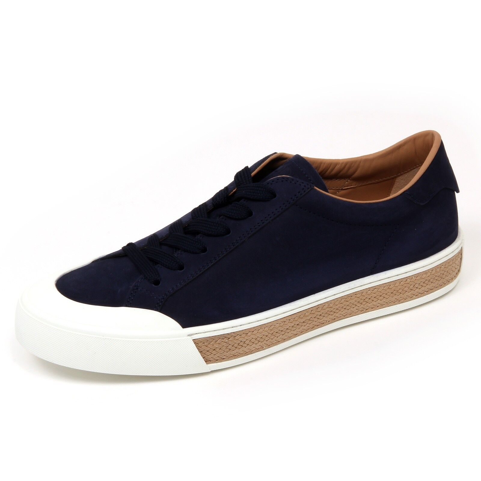 D0148 sneaker hombre Zapatos TOD'S CASSETTA GOMMA zapato blu scuro Zapatos hombre  Hombre 80fbb8