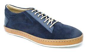 Chaussures Navy 555270 Ebay Cuir Korbalys Homme Kickers Marine Bleu FqTPnUw