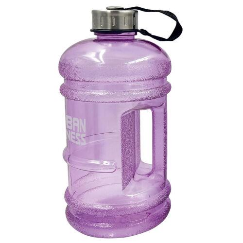UFE Gym Water Jug Bottle 2.2 Litres Half Gallon BPA Free Black Blue Pink 2.2L