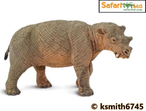 Safari UINTATHERIUM solide Jouet en plastique PREHISTORIC ANIMAL DINOSAURE NOUVEAU *