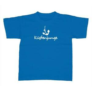 Anker Küstenjunge Küste Meer Kinder T-Shirt