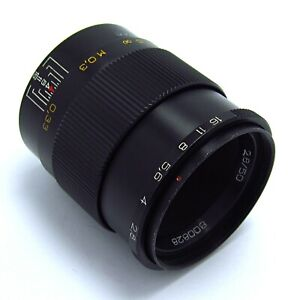✅ INDUSTAR-61 L.Z f2.8/50mm - SERVICED - MADE in USSR-1980 year №800828