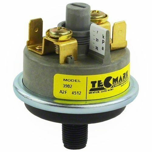 TecMark 3902 Pool Spa Heater Pressure Switch 1 amp 1-5 PSI