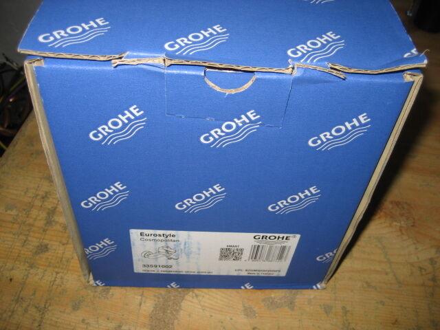 Grohe Eurostyle Cosmopolitan Einhand-Wannenbatterie, DN15, Wandmontage NEU&OVP