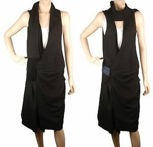 Dress Wool Ca100 Black Artistic London Unique Conmigo nTvPUwy