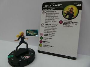 HEROCLIX-JUSTICE-LEAGUE-UNLIMITED-030-Black-Canary-UC