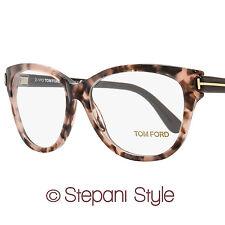 Tom Ford Oval Eyeglasses TF5287 074 Size: 55mm Rose Vintage Havana/Brown FT5287