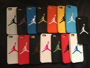 Details about JORDAN COVER FOR APPLE IPHONE 5/5C/5S/SE RUBBER SILICONE CASE LOGO MICHAEL NEW