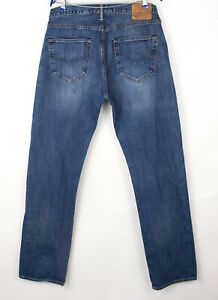 Levi's Strauss & Co Hommes 501 Jeans Jambe Droite Taille W36 L34 BCZ168