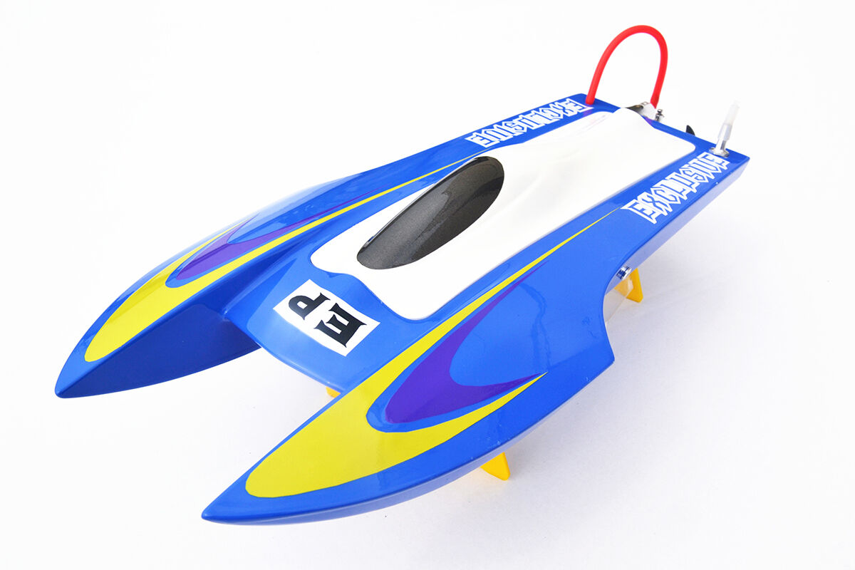 DT RC Boat Hull M440 KIT Colorosso Glass Fiber Only for Advanced Player blu