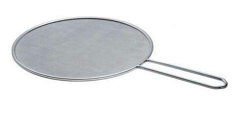 Küchenprofi Spritzschutzsieb Spritzschutz Edelstahl ø 32 cm Pfannenschutz