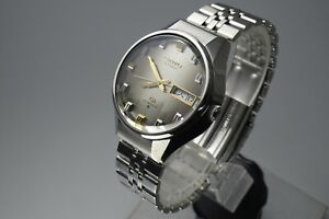 Vintage 1974 JAPAN SEIKO LORD MATIC WEEKDATER 5606-8040 25Jewels Automatic.