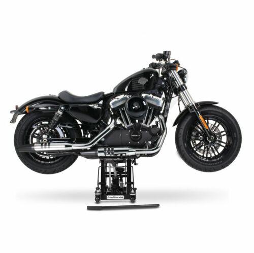 Lift nero Cavalletto alza moto per Harley Davidson Road King Custom FLHRSI