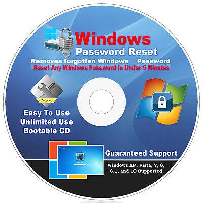 8.1 7 10 #1 BEST Windows Password Reset Remove USB Drive Windows XP VISTA