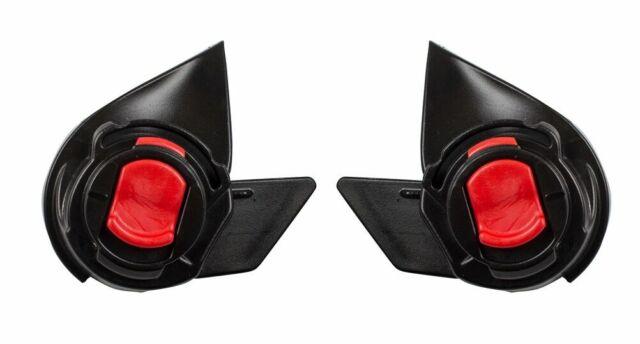 Eastar 1 Pair Rear Bumper Reflector Fog Light Lamp Surrounds Cover Strip fit for Tesla Model 3