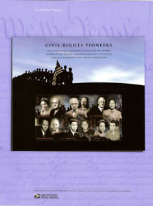 835-42c-Civil-Rights-Pioneers-Sheet-4384-USPS-Commemorative-Stamp-Panel