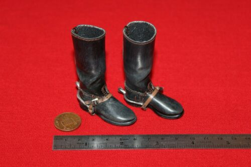 3R DID DRAGON IN DREAMS 1:6TH SCALE WW2 JAPANESE IJA BOOTS /& SPURS SACHIO ETO