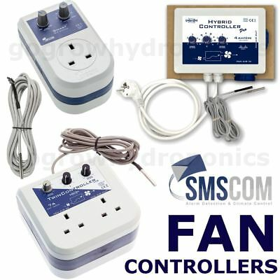 Hybrid Fan Controllers /& Thermostat SMSCOM Twin