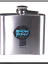 silver colour Mens drinking great gift novelty Bright side Man booze hip flask