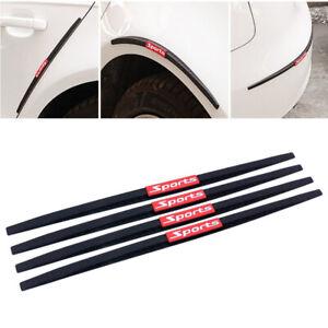 4x Car Door Edge Protector Stickers Fender Bumper Protector Anti-Rub Strip