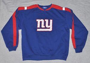 86e833608 Reebok New York Giants Crewneck Sweatshirt Boys XL X-Large Youth ...