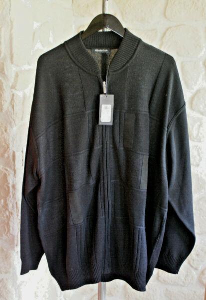 Accurato Gilet Noir Avec Laine Marque Monte Carlo Taille 70 étiqueté 199€